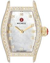 Michele Urban Coquette Diamond Diamond Dial Two-Tone Watch Head