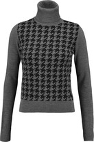 Eight Intarsia-knit wool turtleneck sweater