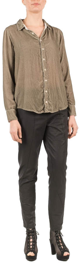 Cp Shades Soft Velvet Shirt