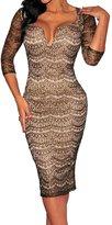 Dissa® FOB6887 femme Robes de Soirée cocktail,M