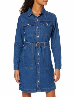 New Look Women's Cally Mini Shirt Dress S10