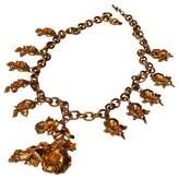 Leonard Gold Metal Necklace