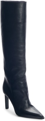 Saint Laurent Kate Straight Knee High Boot