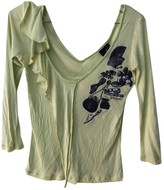 Just Cavalli Green Top for Women
