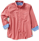 Daniel Cremieux Long-Sleeve Solid Woven Shirt