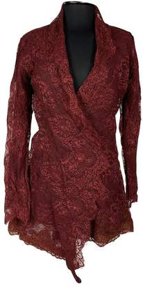 Stone_Cold_Fox Stone Cold Fox \N Burgundy Dress for Women