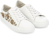 Monsoon Sandra Embroidered Lace Up Trainers