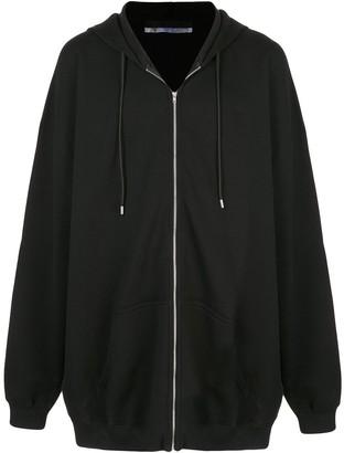 Alyx Oversized Zip Front Hoodie