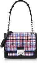 Karl Lagerfeld K/Kuilted Tweed Mini Satchel Bag