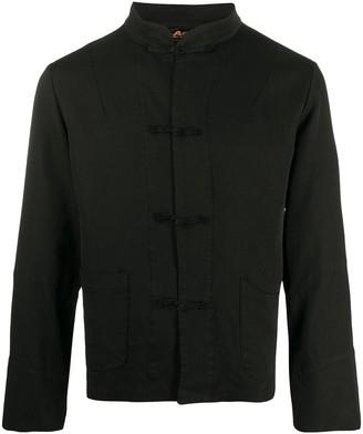 Black Comme Des Garçons Mandarin jacket