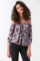 Truly Madly Deeply Bardot Off-The-Shoulder Top
