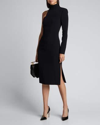 Tom Ford Asymmetric One-Sleeve Bodycon Dress