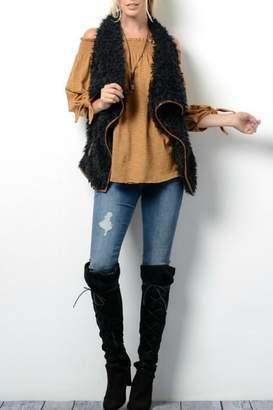Wishlist Faux Fur Vest