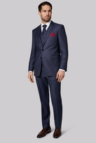Ermenegildo Zegna Cloth Regular Fit Blue Birdseye Jacket