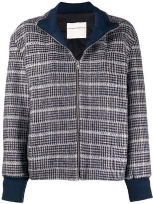 Stephan Schneider patterned bomber jacket