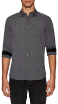 Gilded Age Cotton Woven 1 Pocket Sportshirt