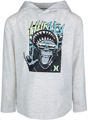 Hurley Boys 4-7 Graphic Hoodie