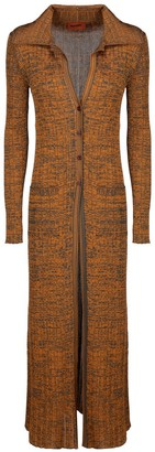 Missoni Rib Knit Long-Line Cardigan