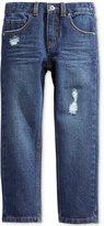 Epic Threads Little Boys' Slim Straight Rip & Repair Jeans, Only at Macy's