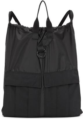 Fumito Ganryu Black 2-Way Military Backpack
