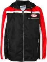 Moschino colour block lightweight jacket