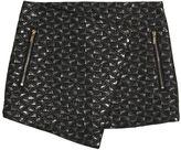 Karl Lagerfeld Lurex Brocade Skirt