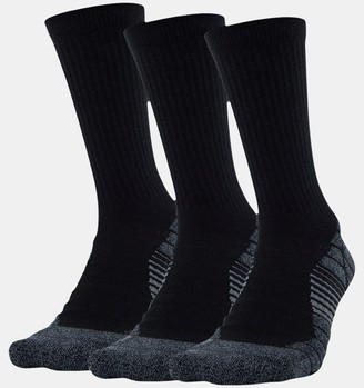 Under Armour Men's UA Elevated Performance Crew 3-Pack Socks