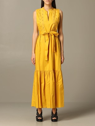 Twin-Set Long Dress With Belt