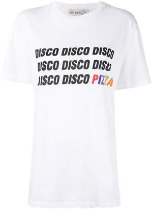 Être Cécile Disco Pizza T-shirt