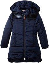 Billieblush Puffer Coat (Toddler/Kid) - Midnight Blue - 2 Years