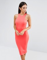 AX Paris Cut In Neck Midi Dress