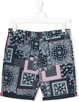 Tommy Hilfiger Junior Bandana print shorts