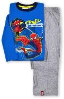 Spiderman Marvel Boys Long Sleeved Pajama Set