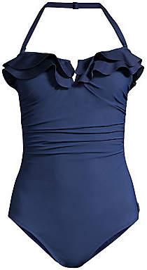 Shan Women's Verona Ruffle One-Piece Swimsuit