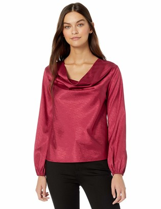 The Fifth Label Women's Lotti Long Sleeve Cowl Neck Blouse Top