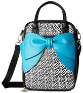 Betsey Johnson Bow Chow Bella Lunch Tote Tote Handbags