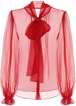 Dolce & Gabbana Exclusive to Mytheresa silk chiffon blouse