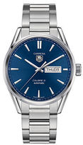 Tag Heuer Carrera Day-Date Stainless Steel Bracelet Watch