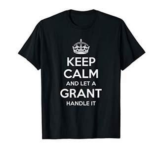 IDEA GRANT Funny Surname Family Tree Birthday Reunion Gift T-Shirt