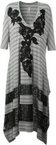 Antonio Marras striped asymmetric dress