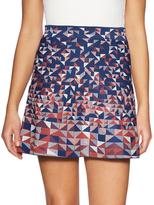 BCBGMAXAZRIA Intarsia Flared Skirt