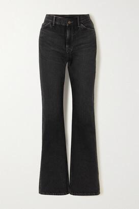 Acne Studios High-rise Straight-leg Jeans - Black