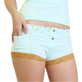 Light Blue Boxer Brief With Trellis Foxers Band