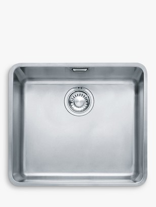 Franke Kubus KBX 110 45 Single Bowl Undermounted Kitchen Sink, Stainless Steel