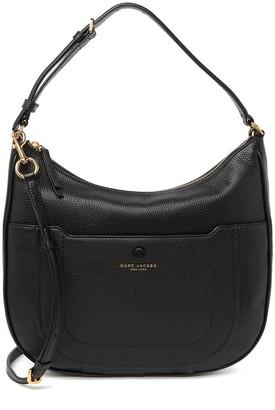 Marc Jacobs Empire City Leather Hobo Crossbody Bag