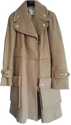 Sonia Rykiel Sonia By Beige Wool Coat for Women