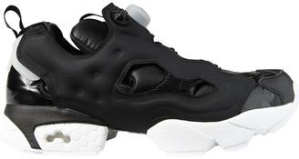Reebok Instapump Fury Hype Leather-Trim Sneaker