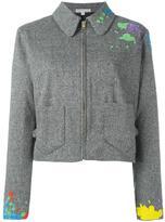 Olympia Le-Tan 'Francis Gabbiano' coat - women - Acrylic/Polyester/Spandex/Elastane/glass - 38