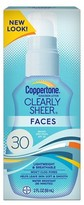Coppertone Clearly Sheer® Faces Sunscreen Lotion SPF 30 - 2 Fl Oz