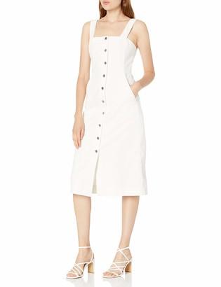 Club Monaco Women's Denim Button Front Dress